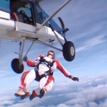 Défi saut en parachute