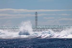 Le phare de Minerva nord