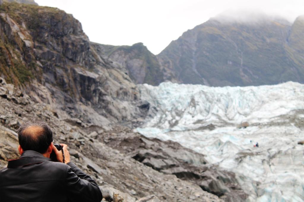 Fox Glacier vu par Khoji (chine)
