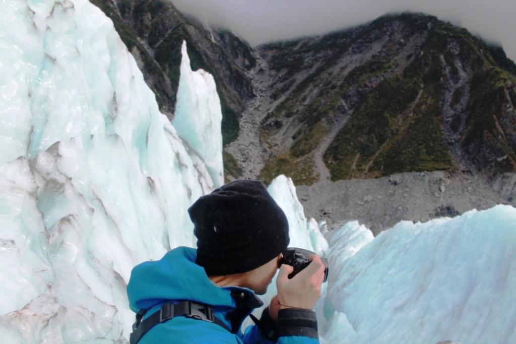Franz Josef Glacier vu par Nico (france)