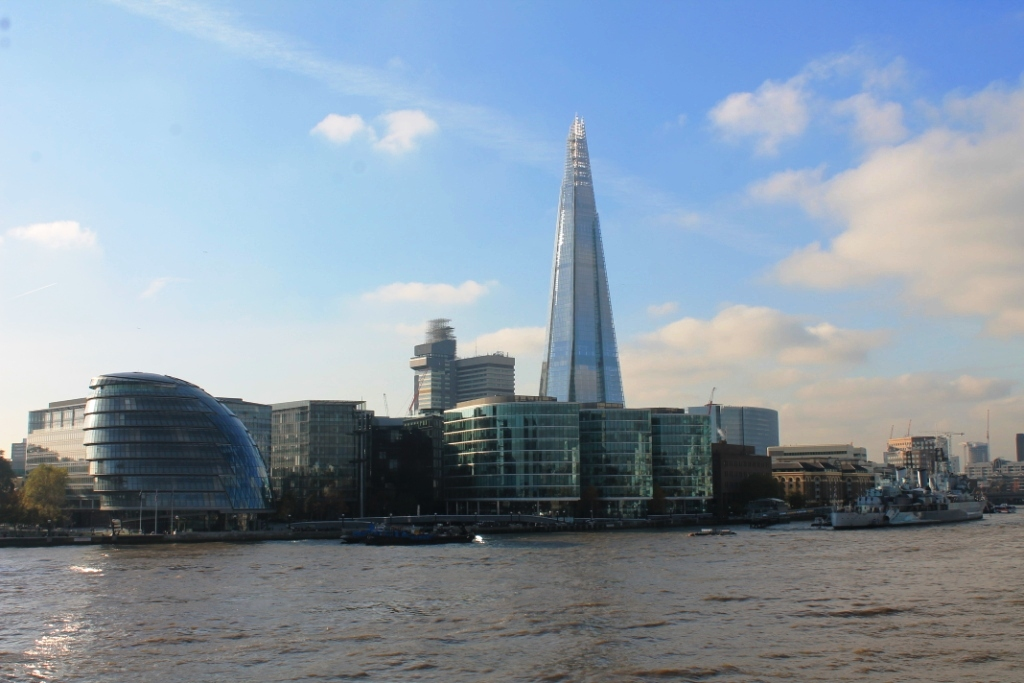 Londres et son Shard