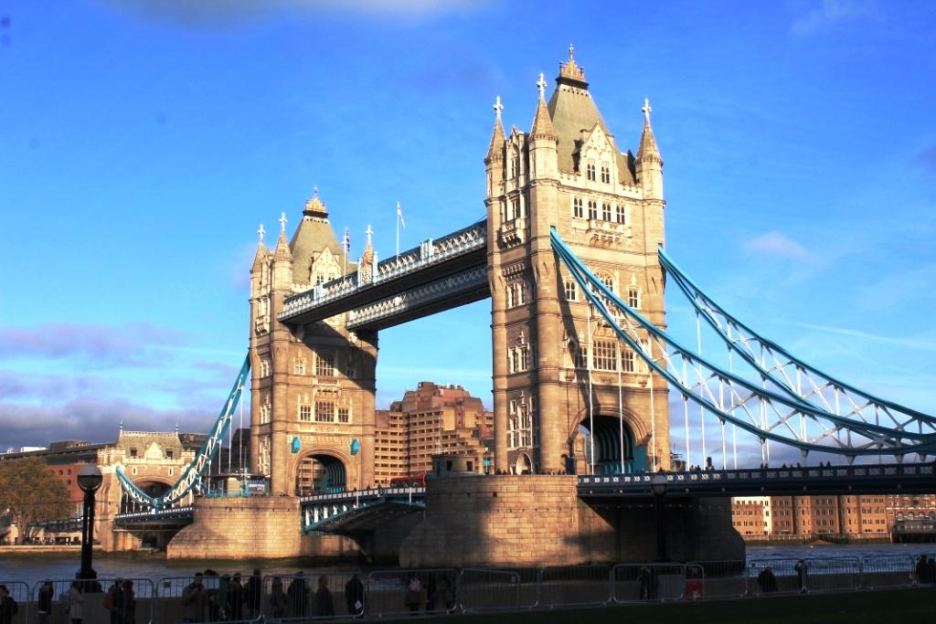 Tower Bridge, littéralement à 3 minutes à pied de chez nous