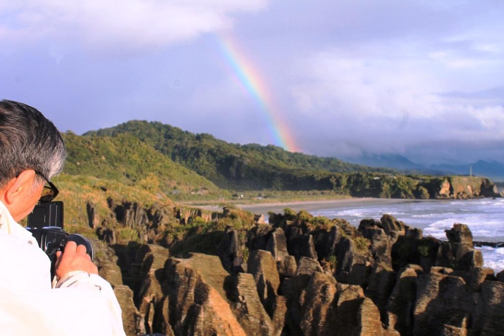Pancake Rocks vu par Kay (thaïlande)