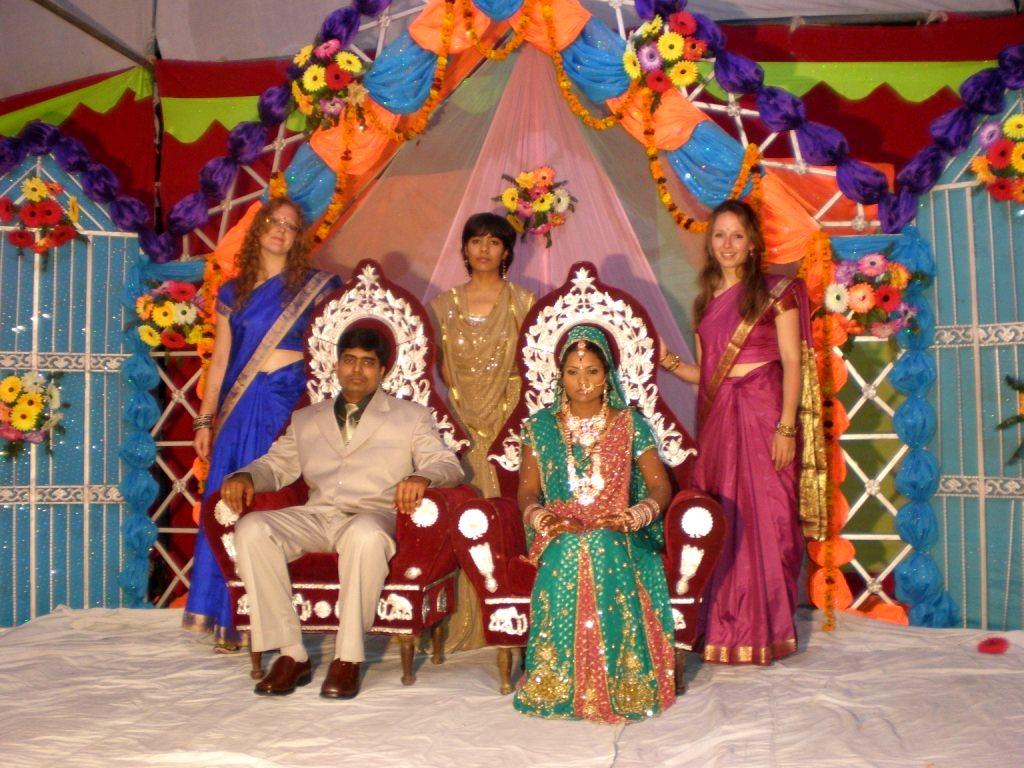 Mariage à l'indienne...Sari-gole pas!