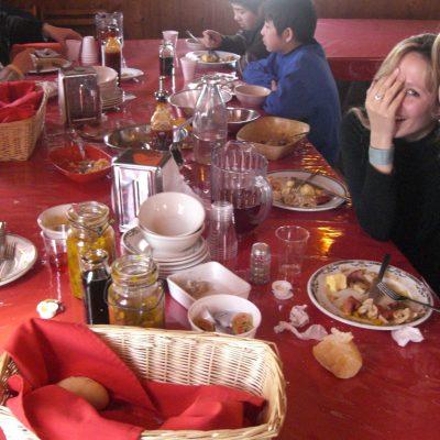A table!!! Le coup de coeur du jour, c'est cette extraordinaire sauce, à base de jus de légumes et de sirop d'érable...je l'ai essayé sur tout, c'est une merveille.