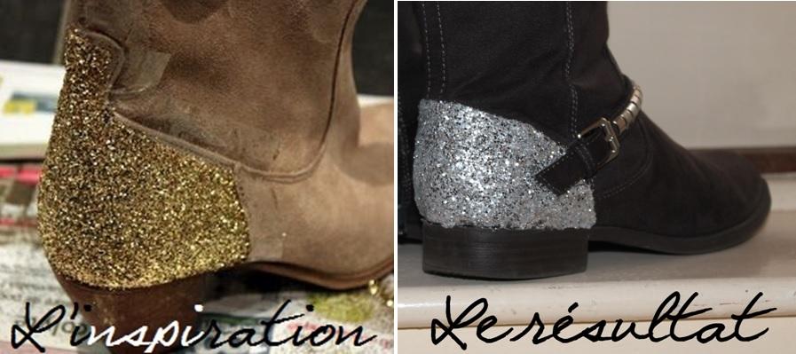 Glitter boots - typo Galeforce