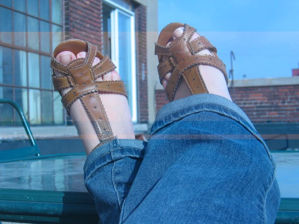 premières sandales