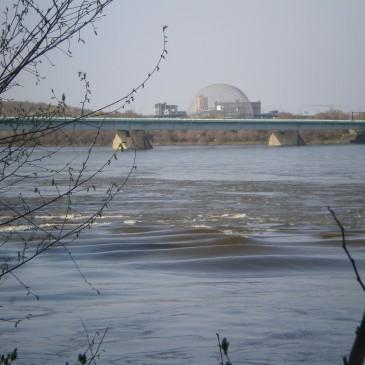 La vague du Saint Laurent