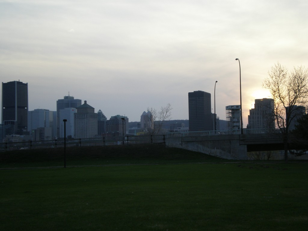 Sunset sur Montréal